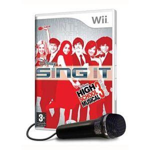 High School Musical : Sing it ! + 1 micro (Disney Sing it : High School Musical 3) [Wii]