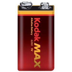 Kodak Pile alcaline 9V 6LR61 Max
