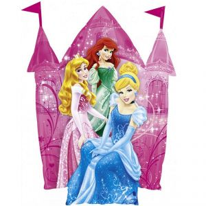 Amscan Ballon hélium Château de Princesses Disney