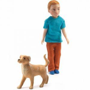 Djeco Xavier - Figurine pour maison de poupées