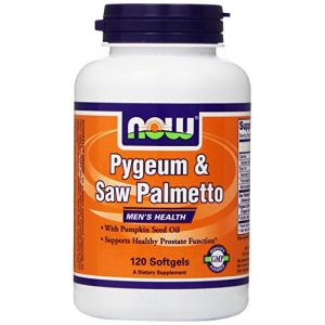 Now Foods Pygeum & Saw Palmetto, Men's Health - x120 Softgels