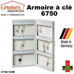 Burg-Wächter Armoire à clé 6750/120R