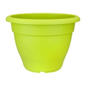 Elho 2055070 Torino Campana Pot De Fleurs Vert Lime 30 X 30 X 22 Cm