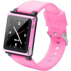 Iwatchz Q Collection - Bracelet montre en silicone pour iPod Nano 6G
