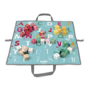 Janod Kubix 40 cubes lettres et chiffres