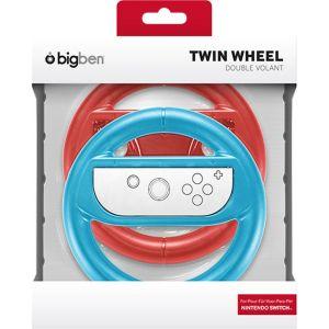Bigben Pack de deux volants Rouge et Bleu pour Joy-Con