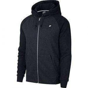 Nike Sweat à capuche entièrement zippé Sportswear Optic pour Homme - Noir - Taille S
