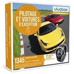 Vivabox Coffret cadeau - Pilotage et voitures d'exception
