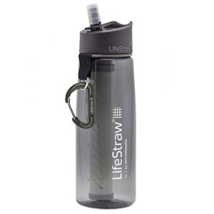 Lifestraw Go 2-Stage Filter Bottle Sports and Outdoor, Gris
