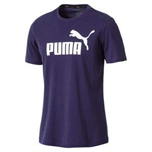 Puma Ess, T-Shirt Homme, Peacoat, FR : M (Taille Fabricant : M)