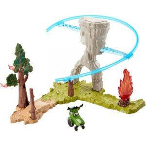 Mattel Opération feu de forêt - Véhicule Planes 2 Coffret Piston Peak