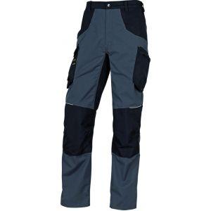 Delta Plus PANTALON DE TRAVAIL MACH SPIRIT 60% COTON / 40% POLYESTER 270 G/M² Gris-noir -M5PA2GN0 - Taille vêtement - 38/40 (M)