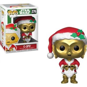 Funko Figurine POP! #276 - Star Wars - C-3PO (Noël)