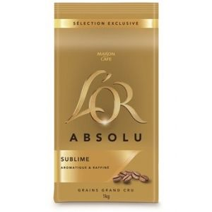 Maison du Café L'OR ABSOLU GRAINS 1KG