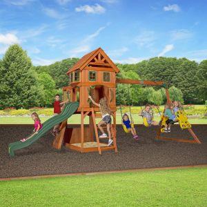 Backyard Discovery Aire de jeux en bois Atlantis