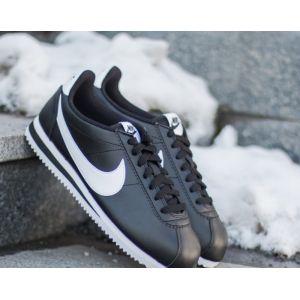 Nike Chaussure Classic Cortez pour Femme - Noir - Taille 36.5 - Female