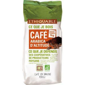 Ethiquable 1 kilo café en grain bio