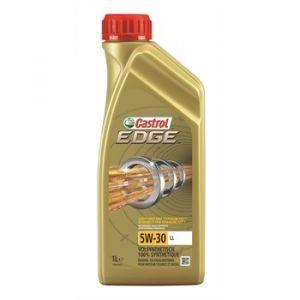 Castrol Huile moteur EDGE Titanium 5W-30 LL Essence et Diesel 1 L