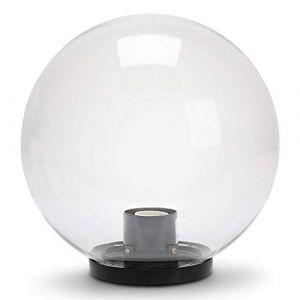 Velamp Lampion D'exterieur - Lanterne D'exterieur - Sphère d'extérieur en PMMA, 200mm, E27, fumée