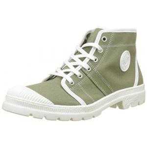 Pataugas Authentiq/T F2D, Desert Boots Femme, Vert (Kaki), 41 EU
