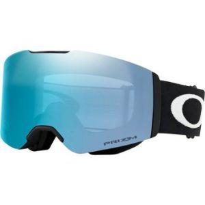 Oakley Fall Line Masque de Ski Mixte Adulte, Matte Black/Prizm Sapphire