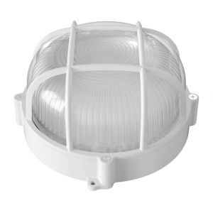 Ecolux Applique Hublot LED 12W étanche équivalent 100W Blanc Chaud (2700K)