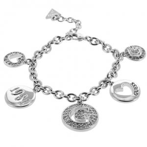 Guess Ubb51430 - Bracelet en métal argenté