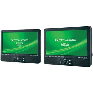 Muse M 990 CVB - Lecteur DVD portable, 2 écrans