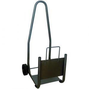 Revex Chariot à bûches - acier renforcé - Accessoire chauffage