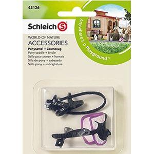 Schleich 42126 - Selle pour poney + harnais