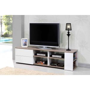 Leader - Meuble TV 2 tiroirs