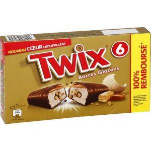 Twix Barres au chocolat au lait fourrées au caramel