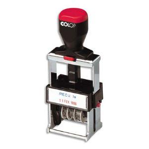 Colop S2160 - Dateur Métal multiformules à encrage automatique
