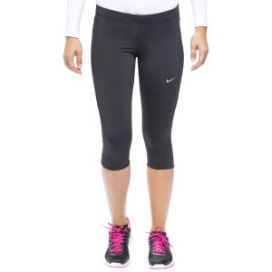 Nike Collants de course Tech Capri Black / Reflective Silver Woman