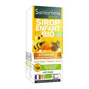 Santarome Bio Sirop Enfant Bio 150 ml