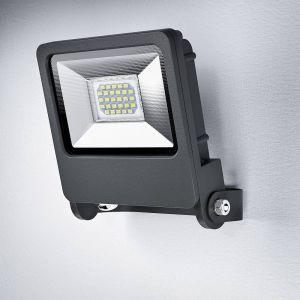 Osram Projecteur Extérieur LED ENDURA FLOOD - Etanche IP65 - 20W - 1500 lumen - Orientable 180° - Blanc chaud 3000K - Gris Anthracite