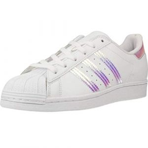 Adidas Superstar Iridescent Originals Blanc/argent 32 Unisex