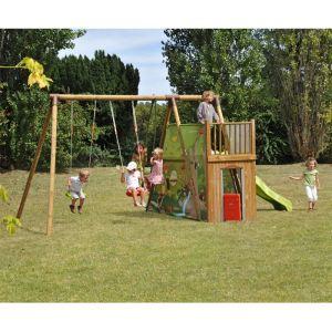 Soulet Chantemerle - Aire de jeux en bois 2,35 m