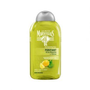 Le Petit Marseillais Shampooing Ortie et Citron Cheveux Normaux Regraissant Vite