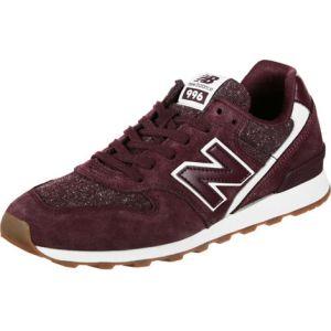 New Balance WR996 Chaussures Bordeaux