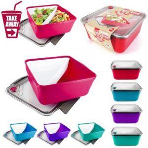 Take away KA1207 Boîte à Repas Compartiment Amovible/Valve Plastique