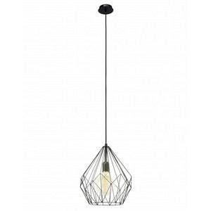 Eglo Lampe pendante noire Carlton
