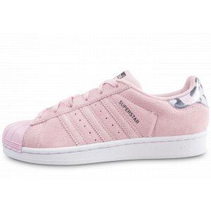 Adidas Superstar J, Chaussures de Fitness Mixte Enfant, Rose