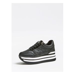 Guess Baskets basses HINDERS3 Noir - Taille 36,37,38,39,40,41,35