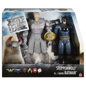 Mattel Justice League - Movie Coffret Combat 2 Figurines