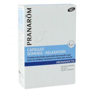 Pranarôm Aromanoctis - Capsules sommeil et relaxation (30 capsules)