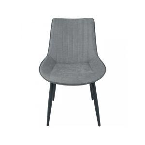 Bobochic 4 chaises Mino grises - 54x60x87 cm