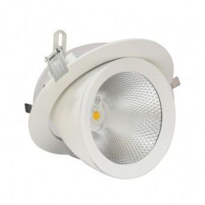 Vision-El Spot Led escargot COB 20W (200W) encastrable orientable Blanc chaud -