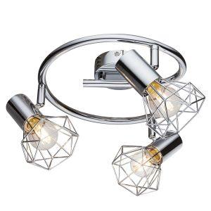 Globo Lighting Plafonnier 3L XARA I Chrome