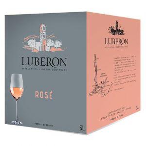 AOP Lubéron, Rosé - Cubi de 3 Litres
